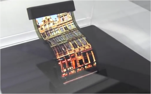 Flexible display for phones