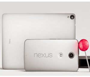 Google Nexus tablet and phone, 2014
